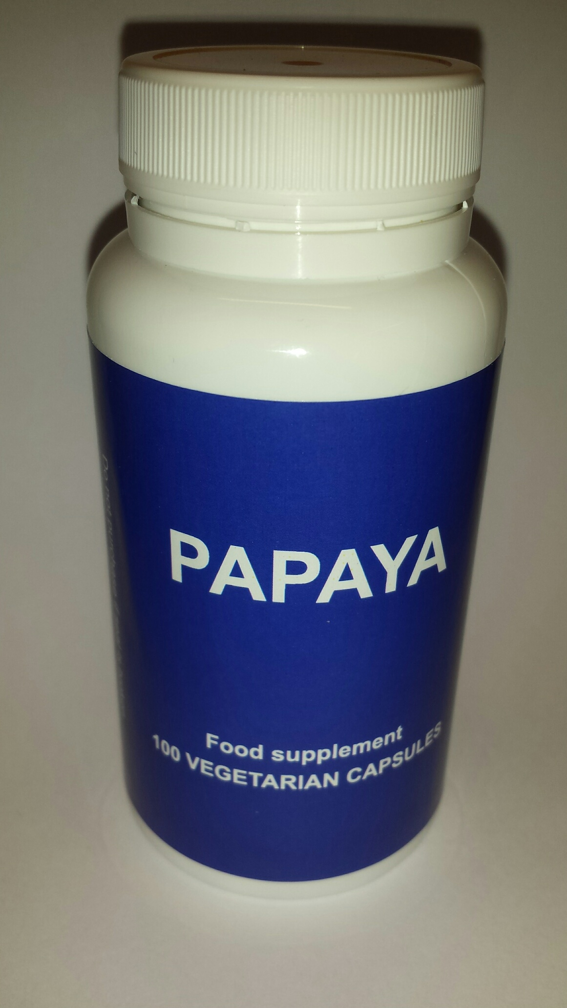 Papaya 100 kapsler